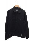 ELVIRA(エルヴィラ)の古着「デニムジャケット」|ブラック