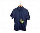 ARCTERYX(アークテリクス)の古着「半袖シャツ」|ネイビー