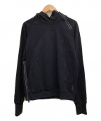narifuri(ナリフリ)の古着「ポンチパーカー」 ブラック