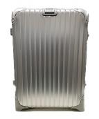 RIMOWA(リモワ)の古着「2輪駆動スーツケース」 メタリックシルバー
