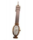 Folli Follie(フォリフォリ)の古着「腕時計」 ピンク