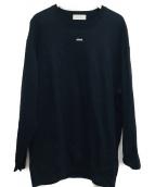 Jieda(ジエダ)の古着「スウェットシャツ」 ブラック