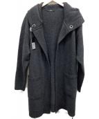 DIESEL(ディーゼル)の古着「ニットガウンンコート」|グレー