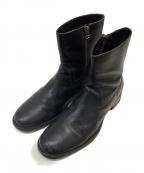 BUTTERO(ブッテロ)の古着「サイドジップブーツ」 ブラック