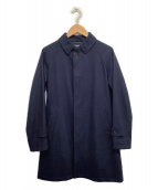 ORCIVAL(オーシバル)の古着「ステンカラーコート」|ネイビー