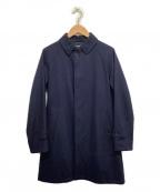 ORCIVAL()の古着「ステンカラーコート」 ネイビー