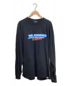 X-LARGE(エクストララージ)の古着「長袖Tシャツ」|ブラック
