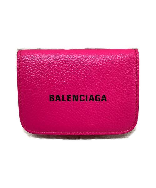 BALENCIAGA(バレンシアガ)BALENCIAGA (バレンシアガ) ミニウォレット ショッキングピンク キャッシュ 593813 1IZ43 5660 -の古着・服飾アイテム