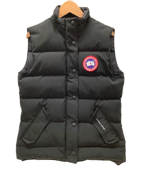 CANADA GOOSE(カナダグース)CANADA GOOSE (カナダグース) ダウンベスト ブラック サイズ:S 冬物の古着・服飾アイテム