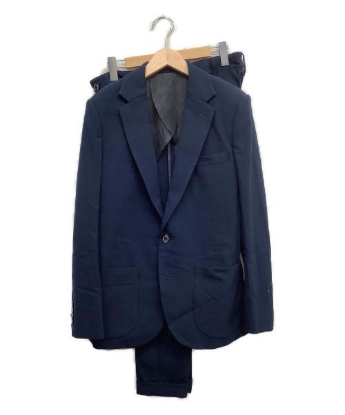 1piu1uguale3(ウノピュウノウグァーレトレ)1piu1uguale3 (ウノピュウノウグァーレトレ) 2Bセットアップ ネイビー サイズ:Size Ⅴ 無地の古着・服飾アイテム