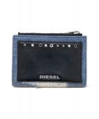 DIESEL(ディーゼル)の古着「2つ折り財布」|ネイビー