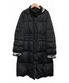 LEONARD(レオナール)の古着「ダウンコート」|ブラック