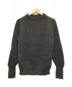 Andersen-Andersen(アンデルセンアンデルセン)の古着「セーラークルーネックセーター ニット」|オリーブ