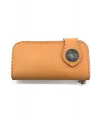 ()の古着「長財布」|ライトブラウン