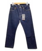 LEVIS(リーバイス)の古着「ストレートジーンズ」|インディゴ