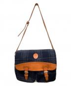CASTELBAJAC(カステルバジャック)の古着「ショルダーバッグ」|ネイビー×グレー