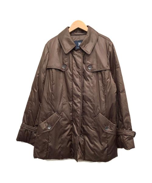 BURBERRY LONDON(バーバリーロンドン)BURBERRY LONDON (バーバリーロンドン) ダウンコート ブラウン サイズ:46 冬物 ダウン90%の古着・服飾アイテム