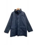 ()の古着「ハイベントコート」|ネイビー