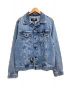 ()の古着「デニムジャケット」|スカイブルー