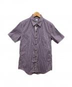 MONCLER GAMME BLEU(モンクレール ガム ブルー)の古着「半袖シャツ」|トリコロールカラー