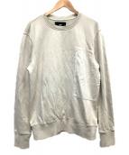 ()の古着「POCKET SWEATSHIRT(ポケットスウェットシャツ」|ベージュ
