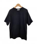 JOHN SMEDLEY(ジョンスメドレー)の古着「半袖ニット」 ブラック