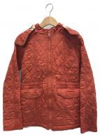 BURBERRY CHILDREN(バーバリーチルドレン)の古着「キルティングコート」 レッド