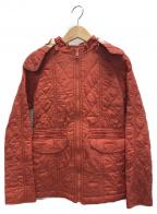 BURBERRY CHILDREN(バーバリー チルドレン)の古着「キルティングコート」 レッド