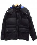 FIDELITY(フィデリティ)の古着「ダウンジャケット」|ブラック×ブルー