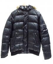 BEAUTY&YOUTH(ビューティーアンドユース)の古着「ダウンジャケット」 ブラック