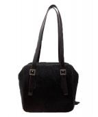 HIROFU(ヒロフ)の古着「ハラコハンドバッグ」|ブラック