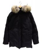 Pyrenex(ピレネックス)の古着「ダウンジャケット」|ブラック