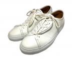 UNITED ARROWS(ユナイテッドアローズ)の古着「レザースニーカー」|ホワイト