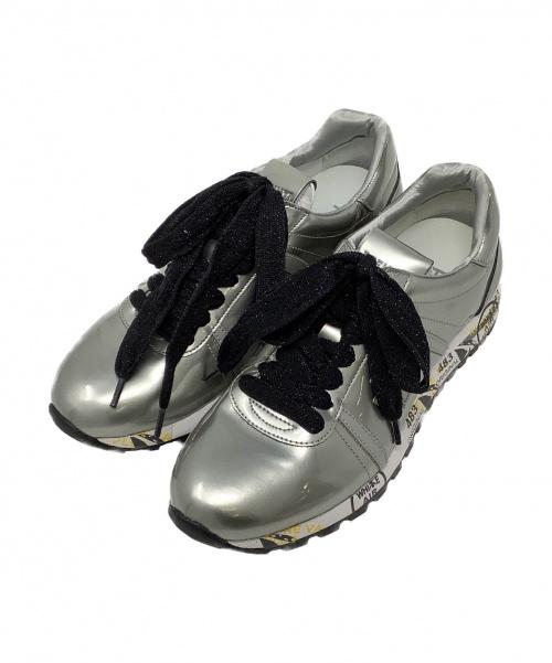 PREMIATA(プレミアータ)PREMIATA (プレミアータ) スニーカー シルバー サイズ:37の古着・服飾アイテム
