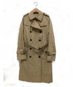 SANYO(サンヨー)の古着「ダブルトレンチコート」|ベージュ