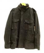 AVIREX(アヴィレックス)の古着「ジャケット」|ブラック