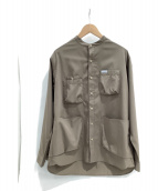 ()の古着「シャツジャケット」|ブラウン