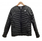 ()の古着「サンダーラウンドネックジャケット」|ブラック