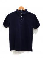 BLACK LABEL CRESTBRIDGE(ブラックレーベルクレストブリッジ)の古着「ポロシャツ」|ネイビー