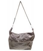()の古着「レザーショルダーバッグ」|ダークブラウン