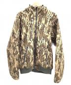 Columbia(コロンビア)の古着「フーデッドジャケット」|ベージュ×ブラウン