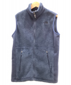 ()の古着「バーサミットジップベスト」|ブルー