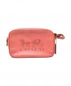 COACH(コーチ)の古着「ショルダーバッグ」|ピンク