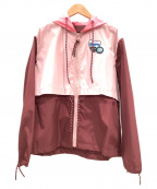 COACH(コーチ)の古着「ウインドブレーカー」|ピンク