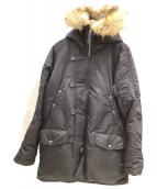 ()の古着「フライトジャケット」|ブラック
