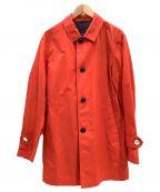 BURBERRY BLACK LABEL(バーバリーブラックレーベル)の古着「コート」 レッド
