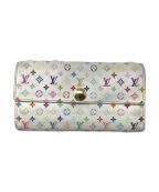 LOUIS VUITTON(ルイ ヴィトン)の古着「長財布」|ホワイト(ブロン)