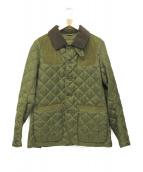 Barbour(バブアー)の古着「キルティングジャケット」|グリーン