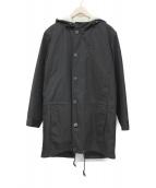 A.P.C.(アーペーセー)の古着「フーデッドコート」|ブラック