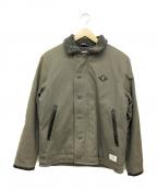 THE CRIMIE(ザ クライミー)の古着「N1ジャケット」|グレー